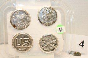 4- Metal Badges