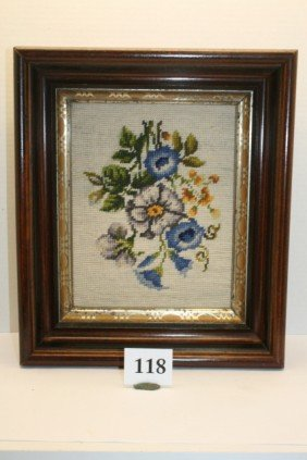 Deep Framed Needlepoint