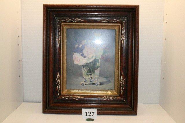 127: Deep Walnut Victorian Frame