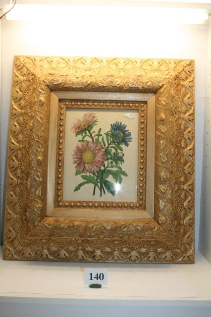 140: Victorian Gold Frame