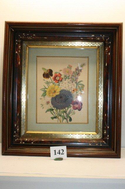 142: Deep Walnut Picture Frame