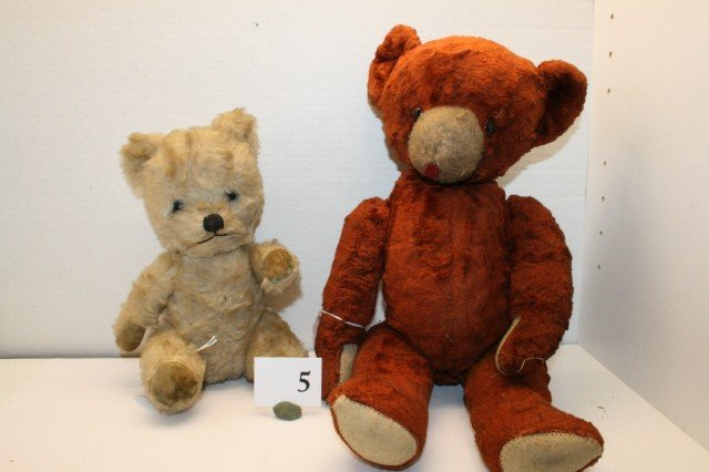 5: Lot 2 Jointed Bears