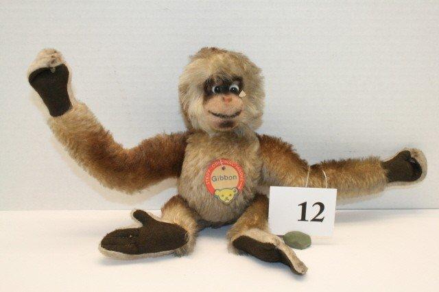 12: Steiff Gibbon Mohair
