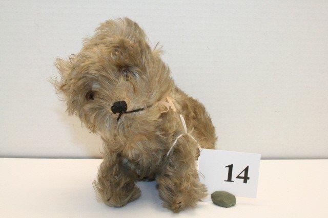 """14: Steiff """"Molly"""" Dog"""