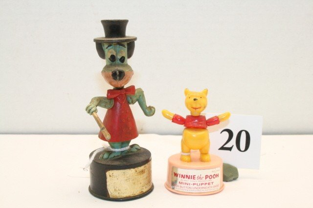 20: Winnie the Pooh push up toys