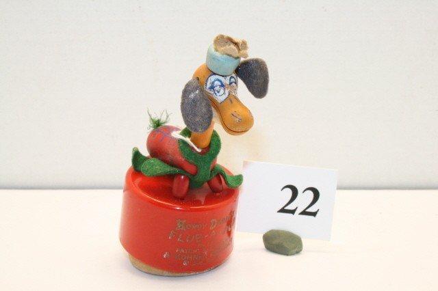 "22: Howdy Doody ""Flub-A-Dub"" push up toy"