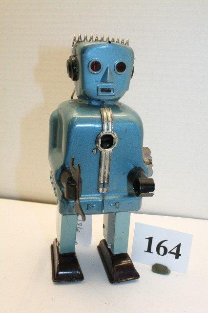 164: Wind up Blue Zoomer Walking Robot