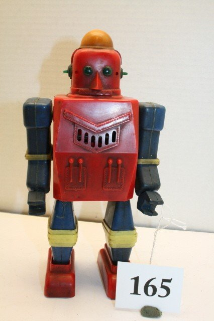 165: B.O. Plastic Walking Robot