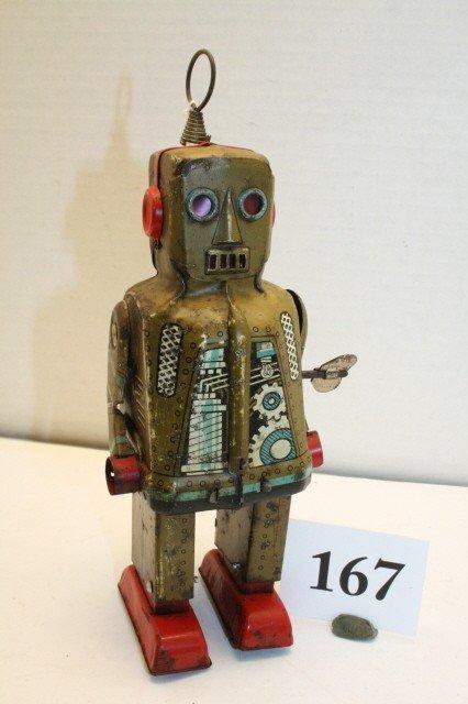 167: Wind up Walking Robot
