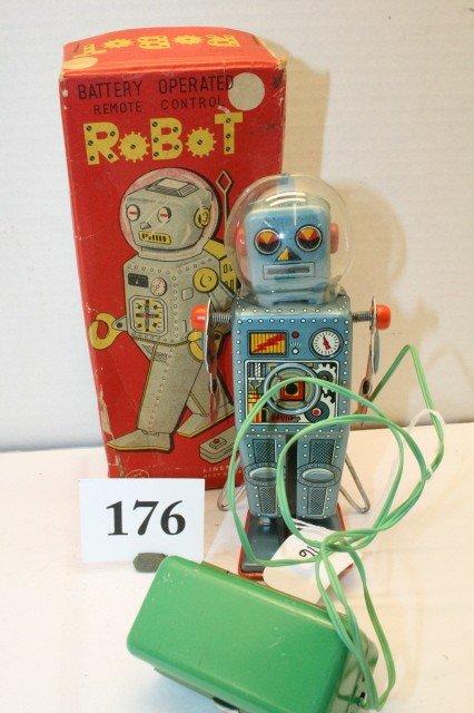 176: Linemar Remote Control Robot