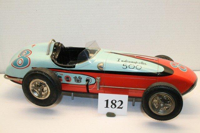182: Tin Indianapolis 500 Race Car