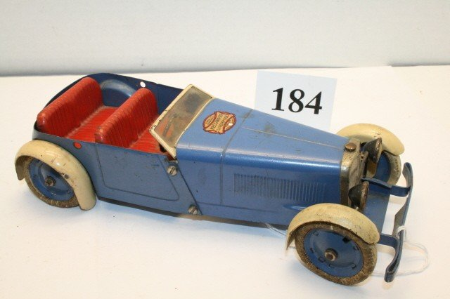 184: Meccano Key Wind Race Car