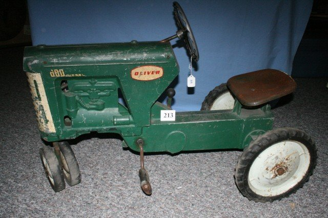 213: Oliver 880 Pedal Tractor 1958