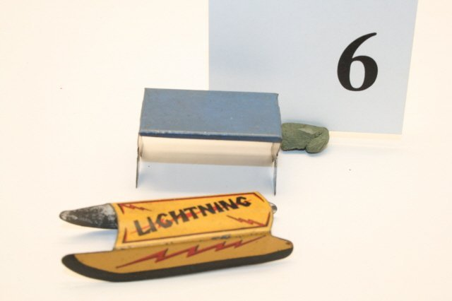 6: Lightning Sled, Metal Picnic Table