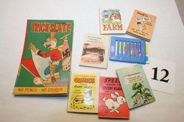 12: (3) 1964 Books, Slide Car