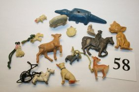 Plastic & Metal Animals