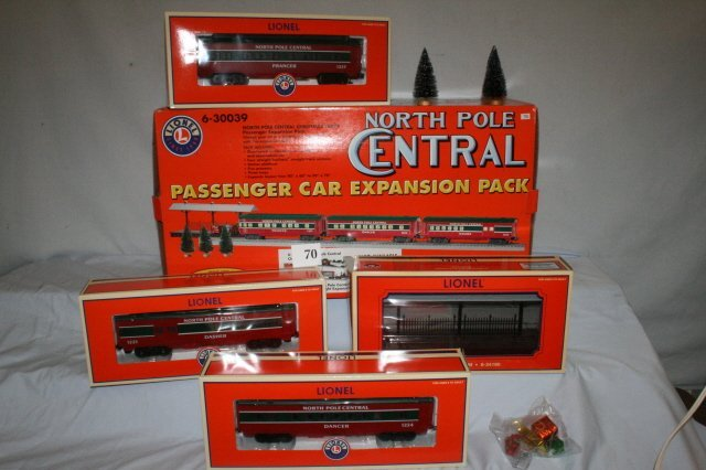 70: Lionel North Pole Central Boxed Set