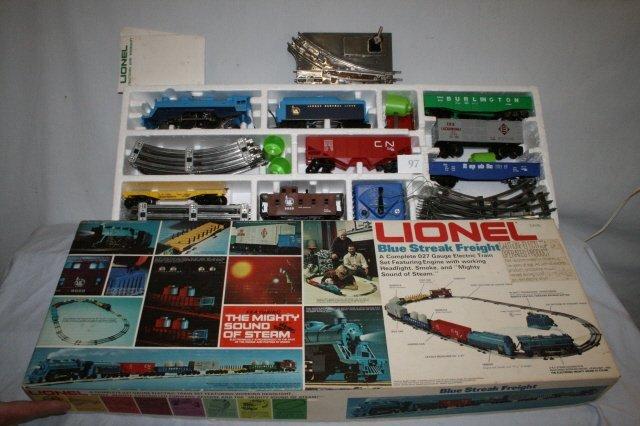 97: Lionel Blue Streak Freight