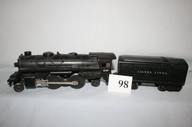 98: Lionel 246 with 1654 T Tender
