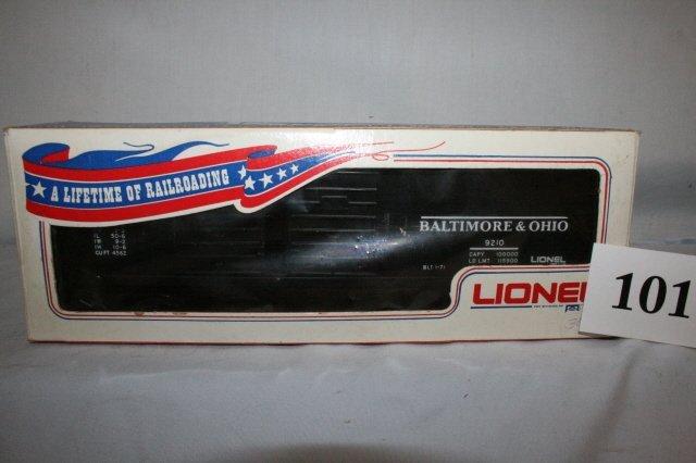 101: Lionel Balt. & Ohio 9210 Freight Car
