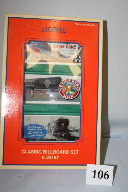 106: Classic Billboard Set in Box