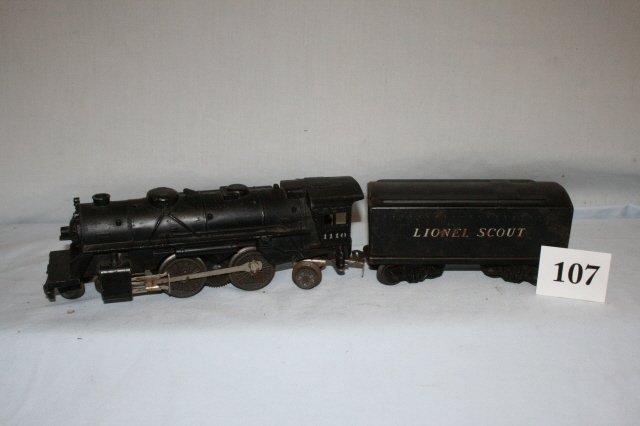 107: Lionel 1110 Engine