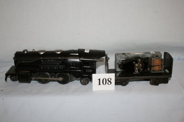 108: Lionel Tin 258 with tender