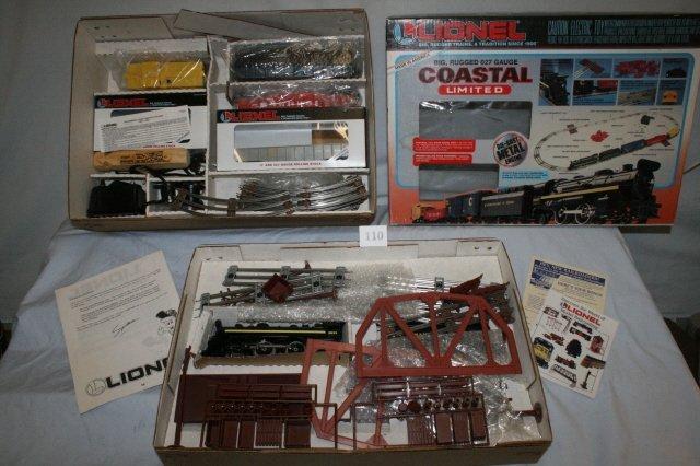 110: Lionel Coastal Limited Set