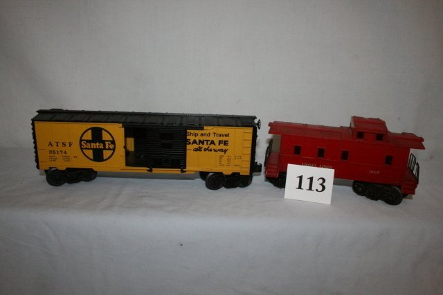 113: Santa Fe Freight Car