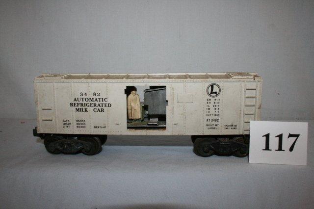 117: Automatic Refrigerated Milk Car