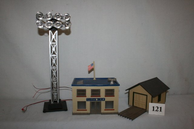 121: Police Department, Switcher Shed
