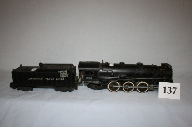 137: American Flyer Steam Locomotive 293