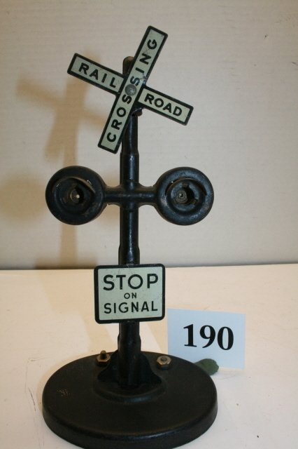 190: Railroad Crossing