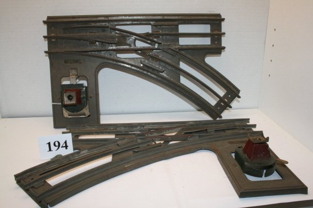 194: (2) Standard Gauge Switches #210