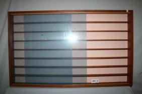 Plexiglas Door Wall Display