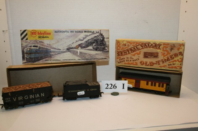 226I: Virginian Coal, C & O Tender, RR Express