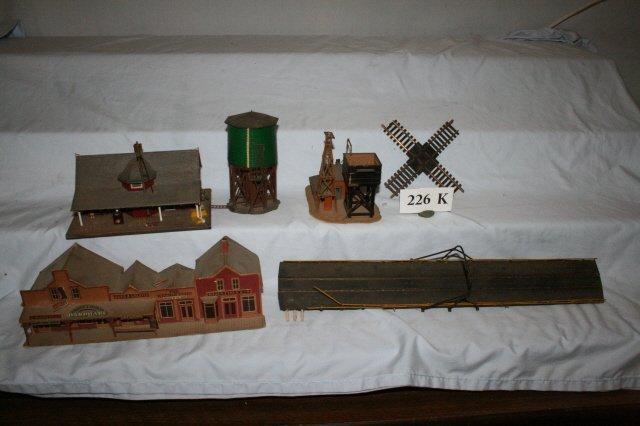 226K: Misc. Train Side Accessories 6 pcs.