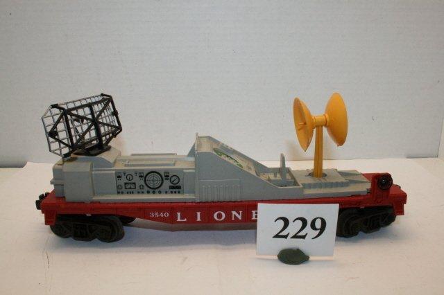 229: 3540 Radar Car