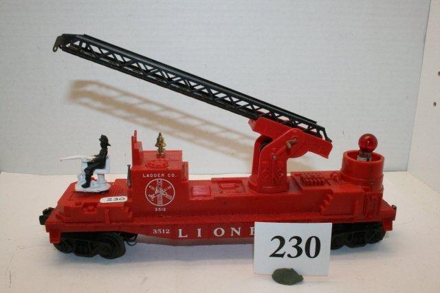 230: 3512 – as shown Ladder Car