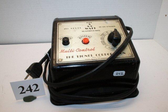 242: Lionel Type s Transformer