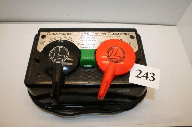 243: Lionel Type TW Transformer