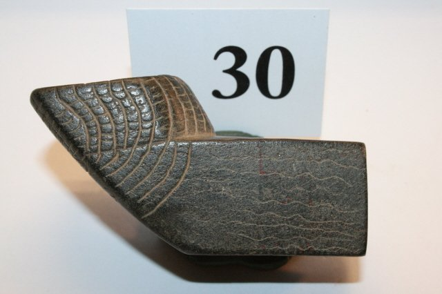 30: Steatite Square Sided Elbow Pipe