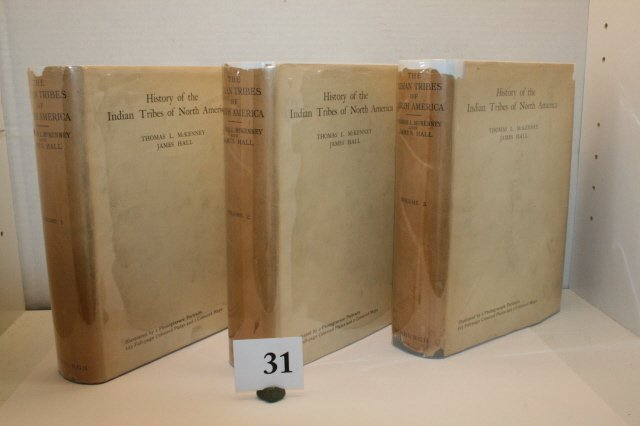 """31: 3 Vol Set of """"History of the Indian"""