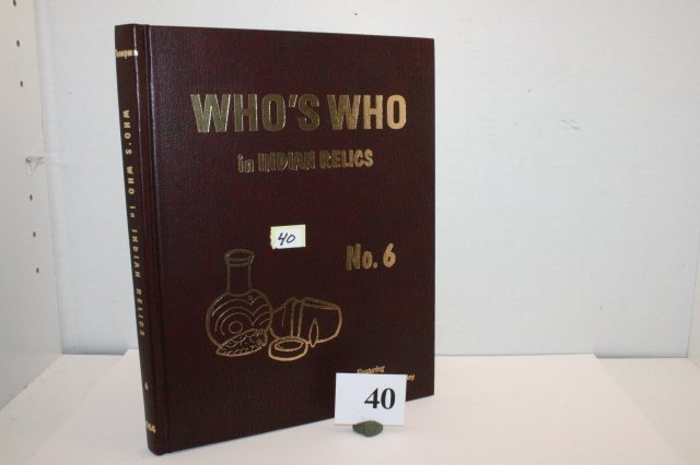 """40: Book – """"Who's Who #6"""