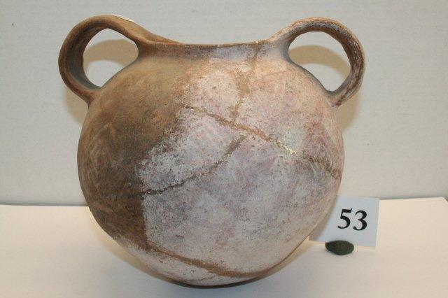 53: Doubled Handled Jar