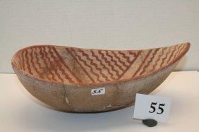 San Juan Pueblo II Melon Shaped Bowl
