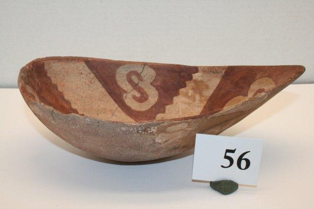 56: Melon Shaped Pottery Bowl