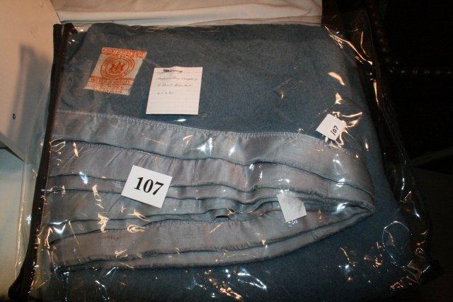 107: Hudson Bay 4 Point Wool Blanket