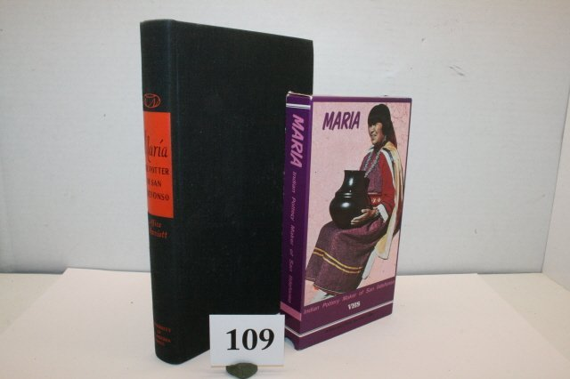 "109: Book Maria, VHS Tape ""Maria"""