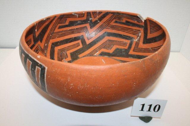 110: St. John Pottery Bowl